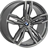 Литые диски Replica BMW (B502) R21 W10 PCD5x120 ET40 DIA74.1 (GMF)