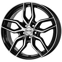 Литые диски Rial Torino R17 W7.5 PCD5x114.3 ET48 DIA70.1 (diamond black front polished)