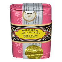 Bee & Flower, Розовое мыло, 2,65 унции (75 г)