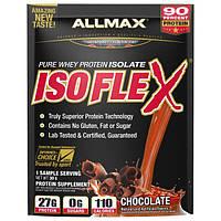 ALLMAX Nutrition, Isoflex, 100%-ный сверхчистый изолят сывороточного протеина (фильтрация изолята сывороточного протеина с помощью заряженных ионами