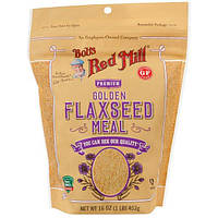 Bob's Red Mill, Premium Golden Flaxseed Meal, 16 oz, 453 g