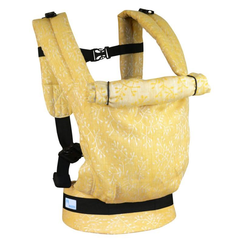 Эргономичный рюкзак Basic (лен жаккард)
