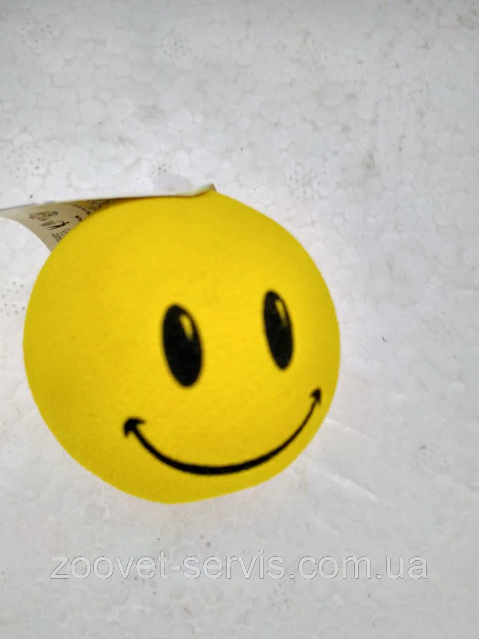 Игрушка для кота Мяч смайлик