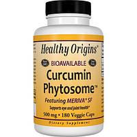 Healthy Origins, Куркумин фитосомный - Meriva SF, 180 вегетарианских капсул