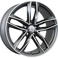 Литые диски WSP Italy Audi (W570) Penelope R20 W8.5 PCD5x112 ET33 DIA66.6 (matt gun metal polished)