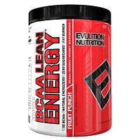 EVLution Nutrition, Сухая энергия аминокислот с разветвленной цепью, фруктовый пунш, 11,8 унц. (336 г)