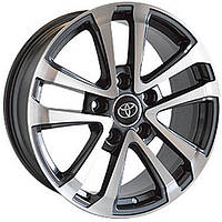 Литые диски Replica Toyota (TY720) R16 W7 PCD5x150 ET20 DIA110.1 (SF)