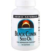 Source Naturals, Масло семян черного тмина, 120 мягких желатиновых капсул