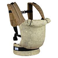 Эргономичный рюкзак Basic (лен жаккард), фото 1