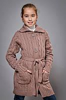 Детский вязанный кардиган для девочки