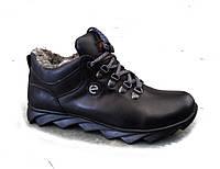 Ботинки  мужские  зимние кожаные Е22