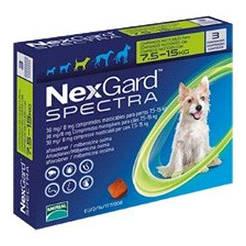 NexGard Spectra M таблетки от блох, клещей и гельминтов для собак от 7.5 до 15 кг цена за 1 таблетку