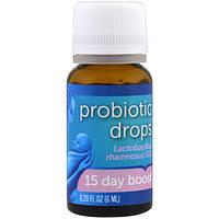 Mommy's Bliss, Капли с пробиотиками, курс на 15 дней, для новорожденных, 0,2 жидкие унции (6 мл)