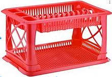 Сушка для посуды пластиковая 2 яруса ELIF 306