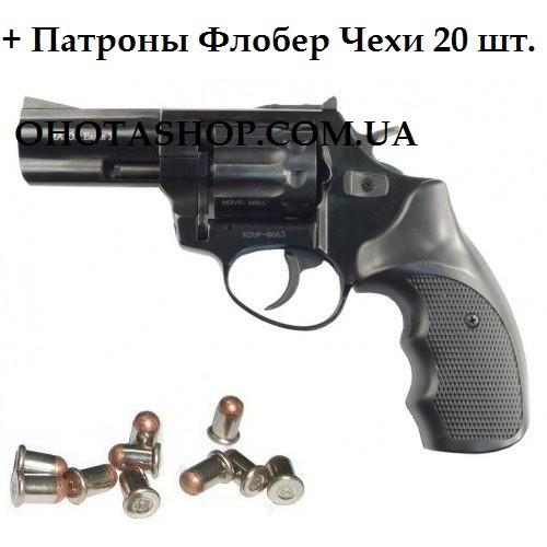 Револьвер під патрон Флобера Ekol Viper 3 (Black)