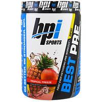 BPI Sports, Best Pre Workout (Лучшая подготовка к тренировке), Тропическая прохлада, 11,11 унции (315 г)