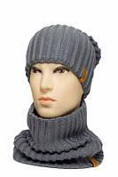 Комплект шапка шарф Чес, фото 1