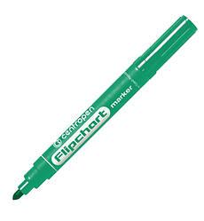 Маркер для фліпчарта Centropen 8550 Flipchart, 2,5 мм, круглий наконечник, зелений