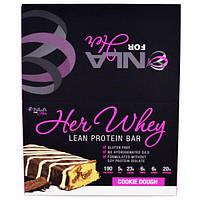 NLA for Her, Сыворотка для нее, батончики с протеином для сухой мышечной массы, песочное печенье, 12 батончиков, 2 унции (57 г) каждый