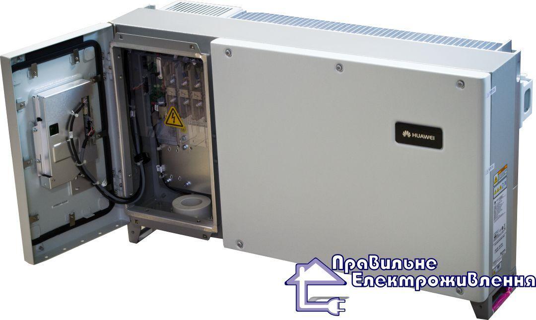 Мережевий інвертор Huawei SUN2000-33KTL-A ( 30кВт, 380В, 4 - МРРТ трека )