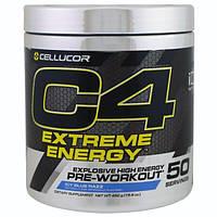 Cellucor, C4 экстремальная энергия, перед тренировкой, льдисто-голубая малина, 15.9 унций (450 г)