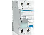 Дифференциальный автоматический выключатель 1+N, 16A, 30 mA, С, 6 КА, A, 2м hager