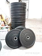 Блины / диски обрезиненные - бамперные, для кроссфит и ТА (Комплект 100 кг)