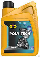 Масло моторное синтетическое Kroon Oil Poly Tech 10W-40 1л.