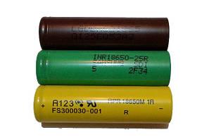 Аккумуляторы высокотоковые 18650