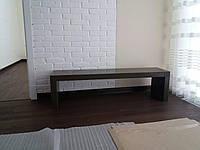 Полка под телевизор ТВ из кварцевого агломерата