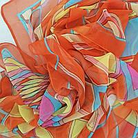 Шарф из шелка разноцветный, фото 1
