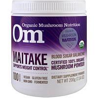 Organic Mushroom Nutrition, Грифола курчавая, грибной порошок, 7.14 унций (200 г)