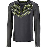 Мужская беговая футболка с длинным рукавом MIZUNO Static BT LS Tee , фото 1