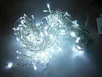 Гирлянда светодиодная бахрома 120 LED белая, фото 1