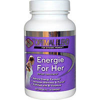 Olympian Labs Inc., Optimal Blend, Energie For Her, 60 Capsules