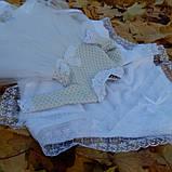 Хрестильний комплект для дівчинки Дарина, фото 5