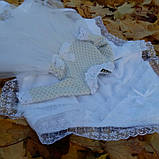 Крестильный комплект для девочки Дарина, фото 5