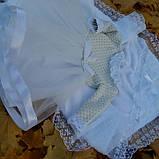 Хрестильний комплект для дівчинки Дарина, фото 3