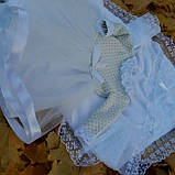 Крестильный комплект для девочки Дарина, фото 3