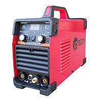 Сварка инверторная Edon EXPERTTIG-250, аргоно-дуговая сварка, переключатель tig/mma, дисплей,2 регулировки