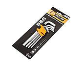 Набір шестигранних подовжених ключів Polax 1,5-10 мм шт 9