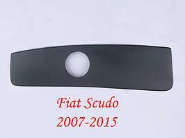 Зимняя радиаторная решетка на Fiat Scudo II