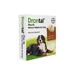 Drontal XL со вкусом мяса 1Т. на 35кг массы тела  животного цена за 1 таблетку