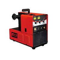 Сварка инверторная Edon EXPERTMIG-2000, профессиональный полуавтомат, 3 регулировки, увеличенная катушка (до 15 кг), еврорукав, КПД 100%, проволока