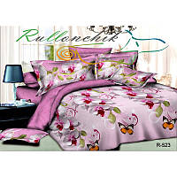 Хорошее постельное белье двуспалка Бабочки