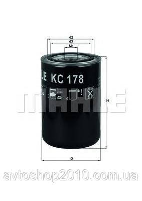 KC178   Фільтр палива DAF (Truck) (в-во Knecht-mahle)