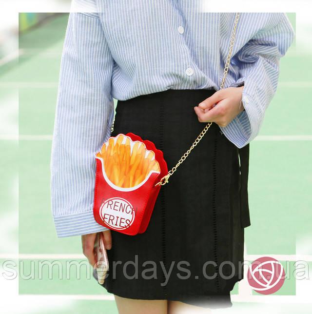 сумка картошка фри