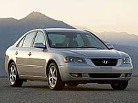 Бампер передний Hyundai Sonata 2005-2007 (NF)