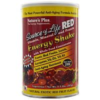 Nature's Plus, Source of Life Red, Витаминный, Минеральный и Протеиновый Енергетический Коктейль 1.1 фунтов (507 г)