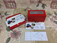 Коробка Красная для 2-ух кексов, маффинов с окном 170*85*90 , фото 1